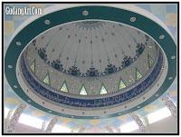 kubah masjid kaca patri