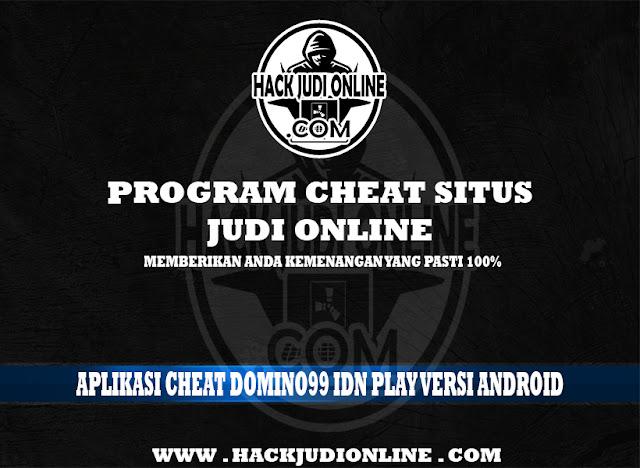 Aplikasi Cheat Domino99 IDN PLAY Versi Android