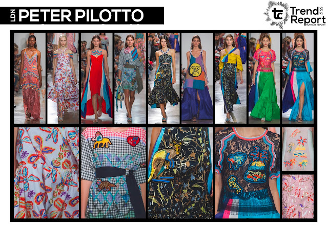 Textile Candy, fashion blog, runway collections, catwalk collections, Spring/Summer 2017, SS17, runway favourites, Peter Pilotto, London fashion week