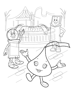 Free Hershey Kiss Coloring Page, Download Free Clip Art, Free Clip ... | 320x249