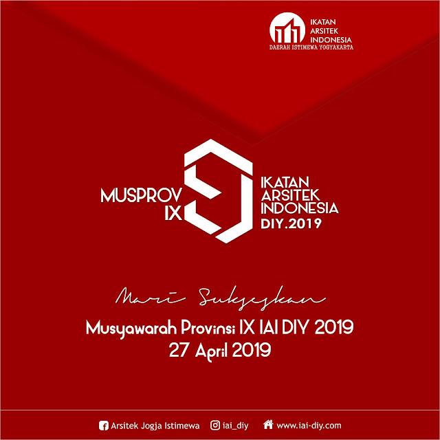 [SERTIFIKAT] Pembukaan Musprov IX IAI DIY 2019