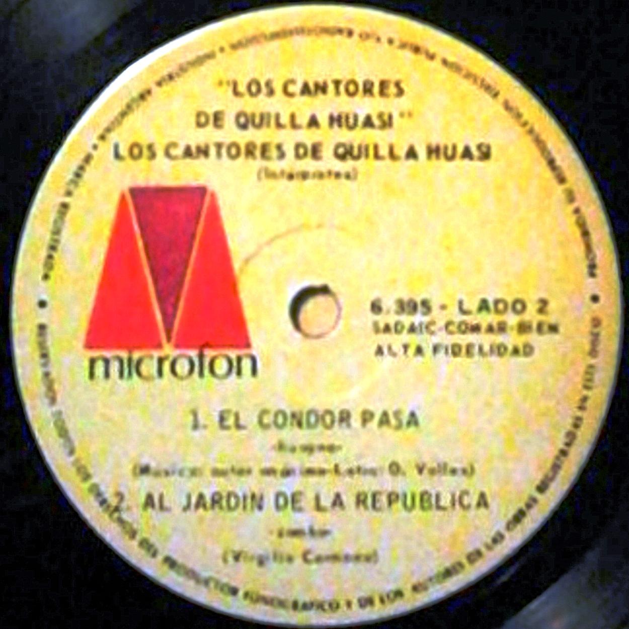 Folklore del noa los cantores de quilla huasi alfonsina for Al jardin de la republica lyrics