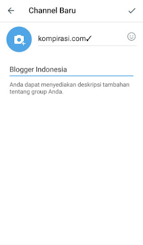 Nama Channel Telegram