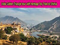 India Golden Triangle tour with heritage Toy Train to Shimla