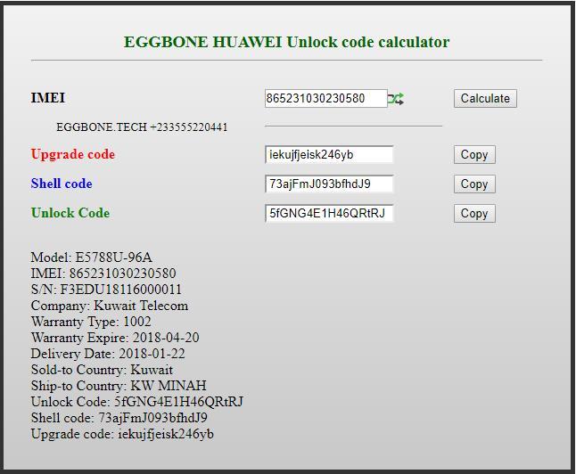 BUY UNLOCK CODE - EGGBONE UNLOCKING GROUP  (+233555220441)