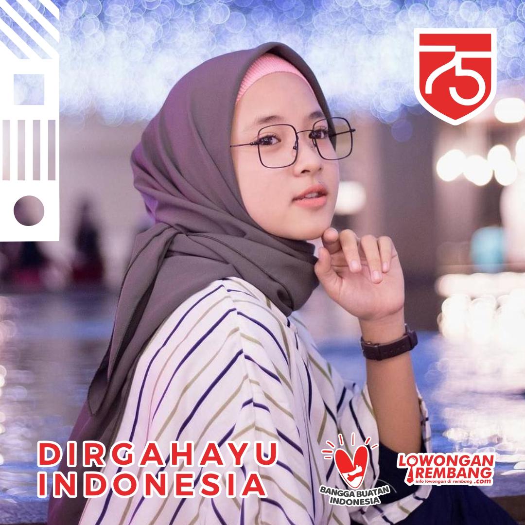 GRATIS & MUDAH Buat Twibbon Dirgahayu Indonesia HUT RI Ke-75 Pakai Foto Terbaikmu