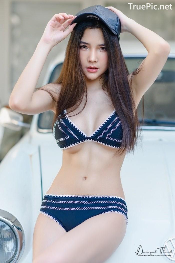 Image Thailand Model - Phitchamol Srijantanet - Triangle Bikini Tops - TruePic.net - Picture-2