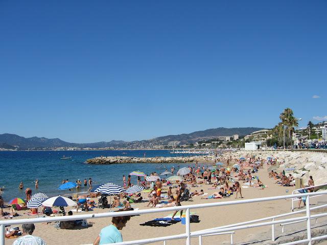 Praia du Midi em Cannes