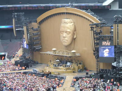 Robbie Williams live in concert