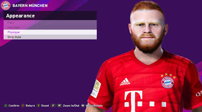 PES 2020 Faces Paul Will by Rachmad ABs