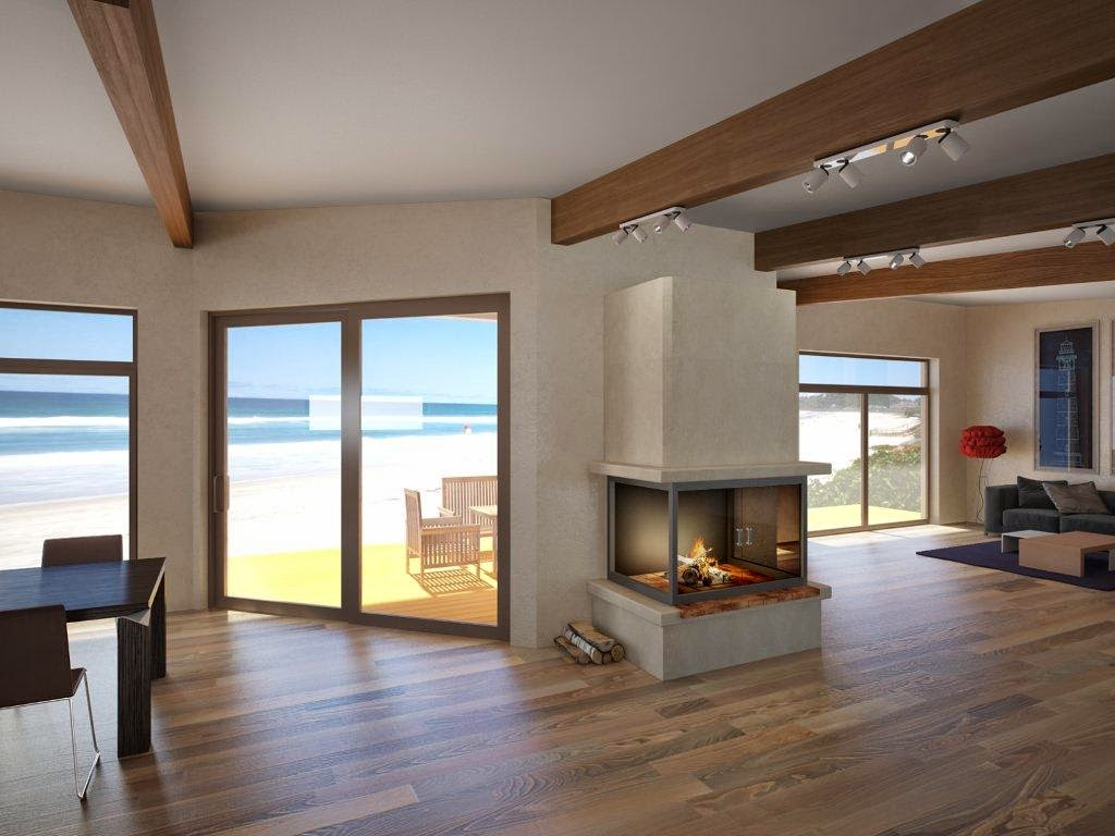 Tiny Beach Home Designs: CH61 Small Beach House Plan