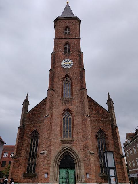 Ingolstadt Altstadt, Matthäuskirche, erste protestantische Pfarrkirche in Ingolstadt