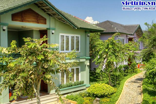 Khu villa - Thùy Dương resort Vũng Tàu