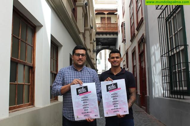 El ciclo MusicQueando propone una decena de actuaciones al aire libre para animar los fines de semana en Santa Cruz de La Palma
