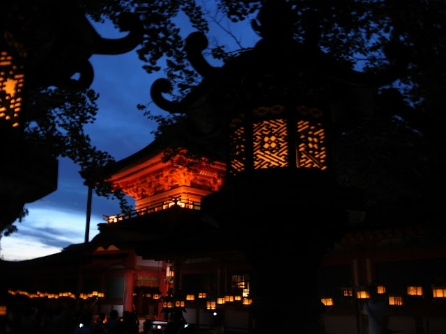 Mantourou (Lantern Festival) at Kasuga Taisha Shrine in Nara Pref.