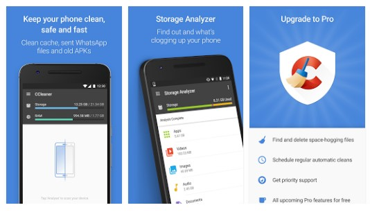 CCleaner Apk Memory Cleaner, Phone Booster, Optimizer - top4uApk