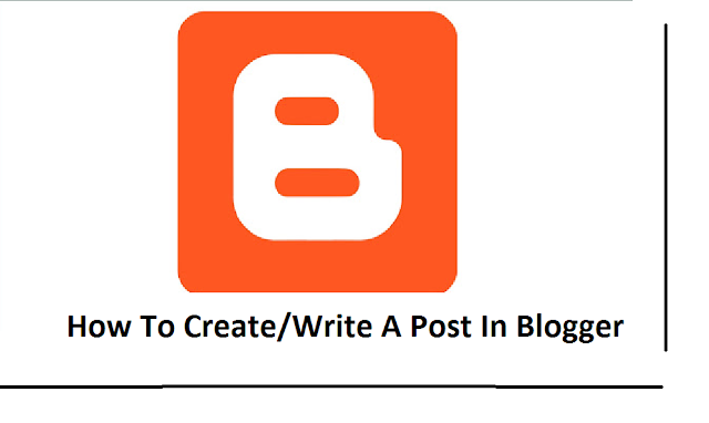 Easy Rules Of How To Create/Write A Post In Blogger | Blogging Pro Tips |