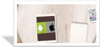 Gambar Tablet dan Smartphone