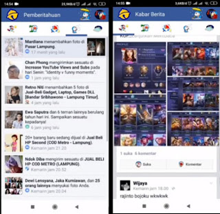 Download Facebook Lite Terbaru 2019 Doraemon Theme
