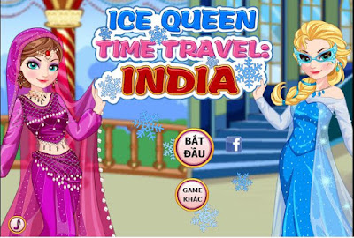 Chơi game thời trang nữ hoàng Ấn Độ