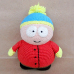 PATRON CARMAN SOUTH PARK AMIGURUMI 24036