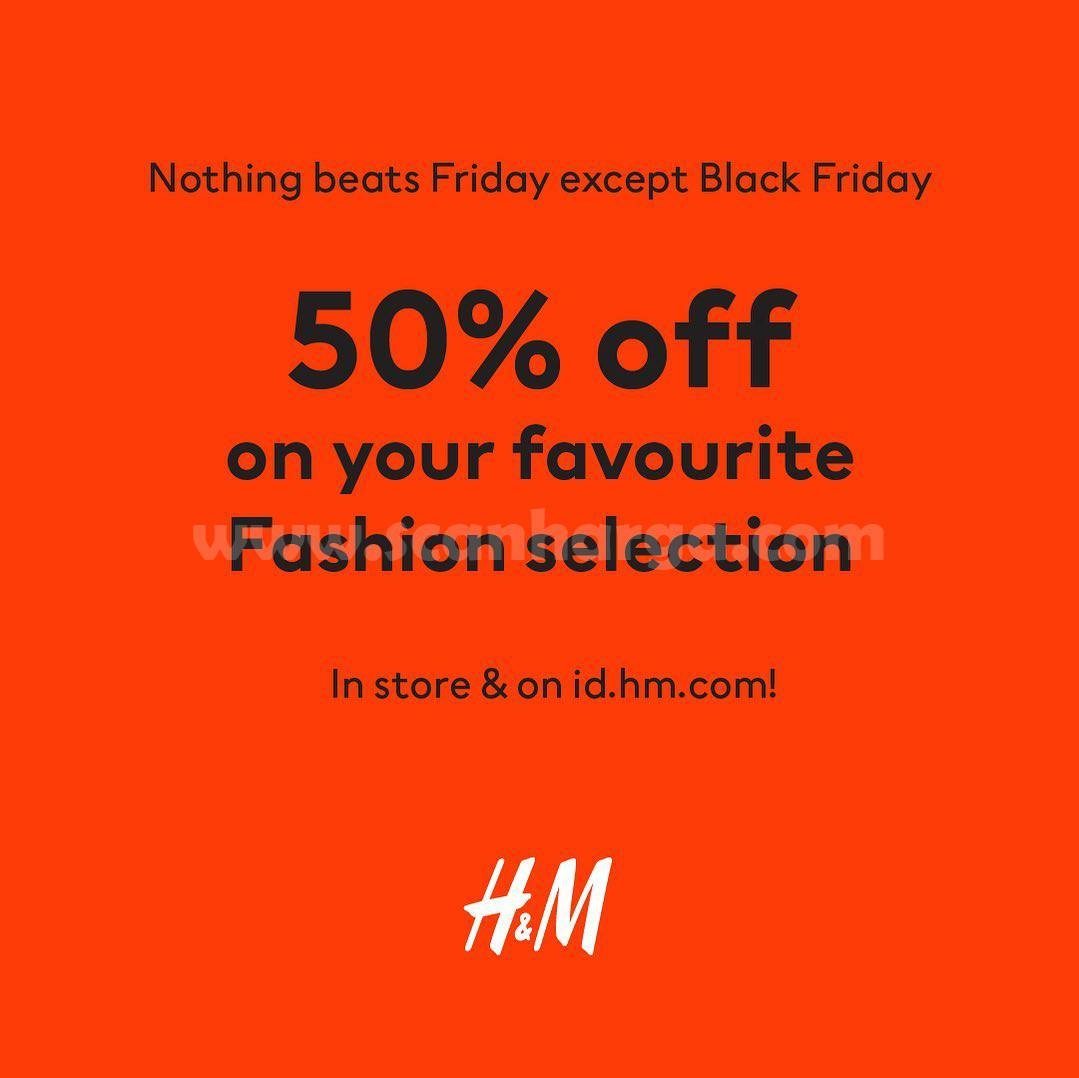 H&M Promo Black Friday: Enjoy Discount Up To 50% Off*