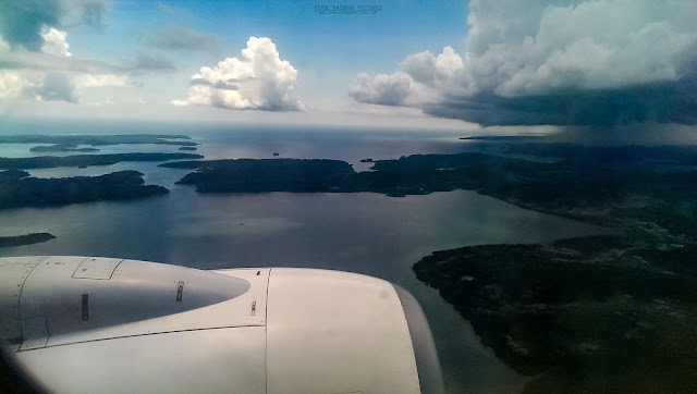 Port Blair Airport approaching