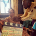 Spotted:Nollywood Veteran,Liz Benson on a Movie Set