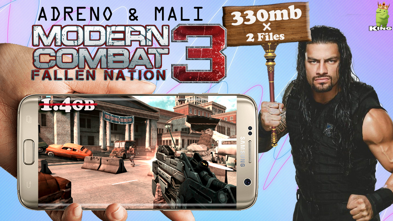 Download game modern combat 3 android