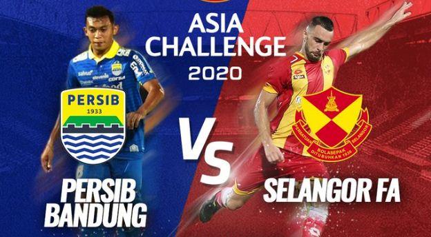 Susunan Pemain Persib Bandung vs Selangor FA