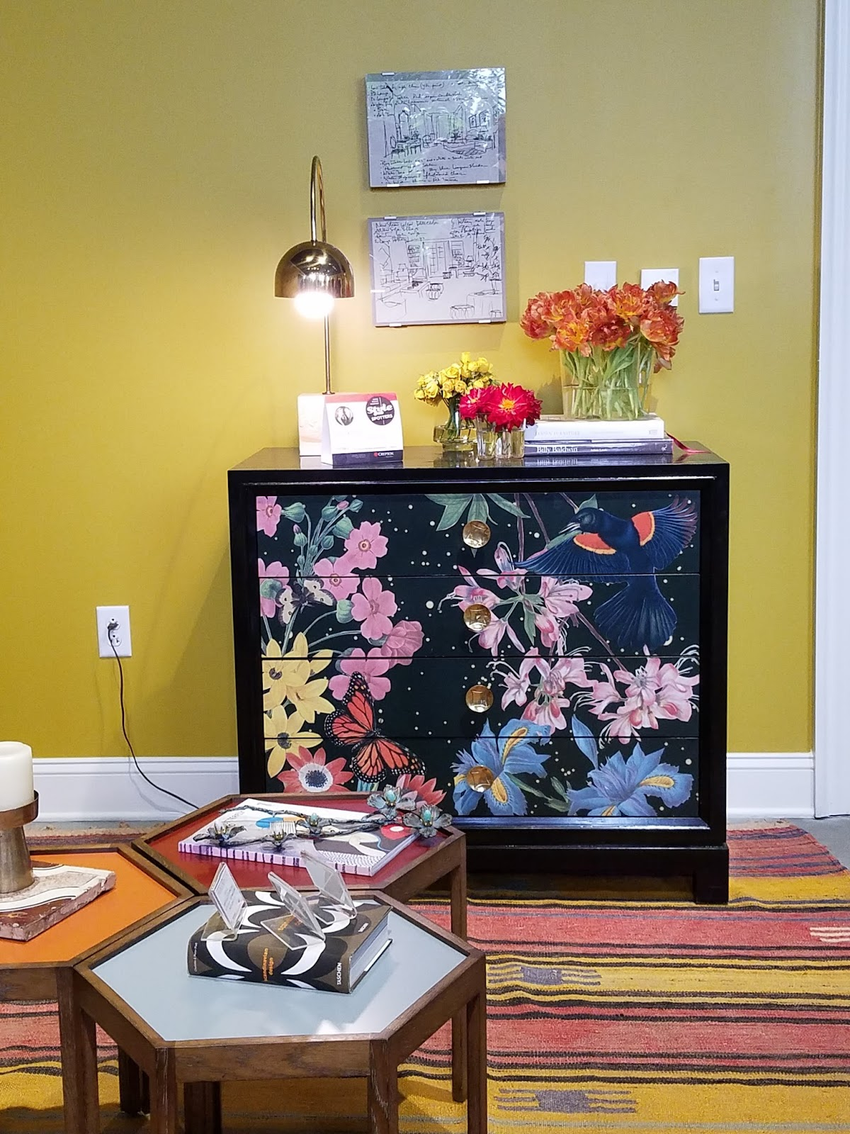 Highland House: Beautifully Crafted And Designed Chest Of Drawers With  Decoupage.