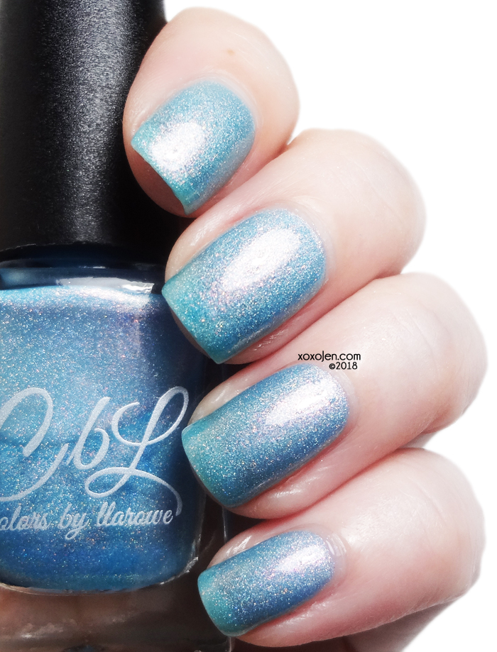 xoxoJen's swatch of CBL Turn of the Tide
