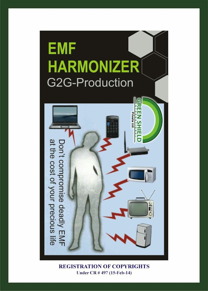 Electro Pollution ( Electro Magnetic Frequencies ) - A Silent Killer,   EMF Harmonizer ( Radiation Protector ) (Mobile [ Cell Phone ]  Chip)