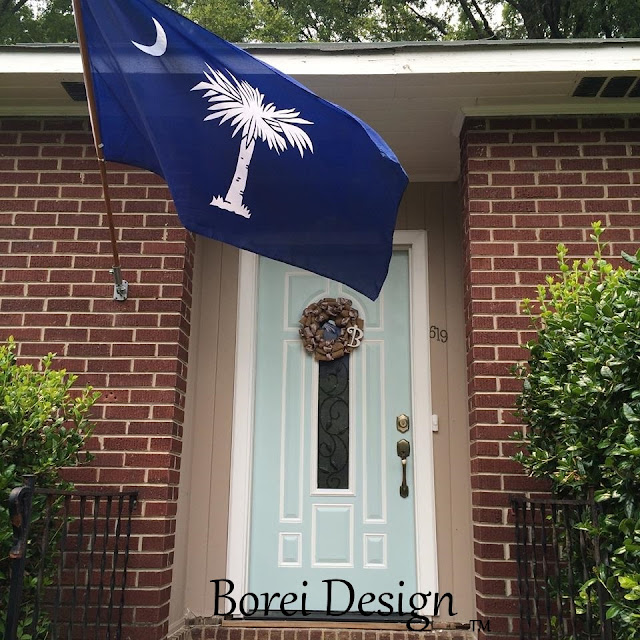 charleston haint blue front door makeover paint what color is history why