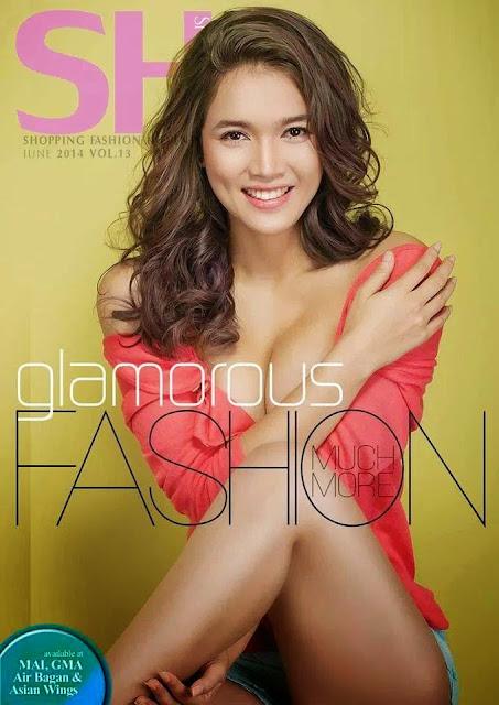 she magazine cover glamorous fashion