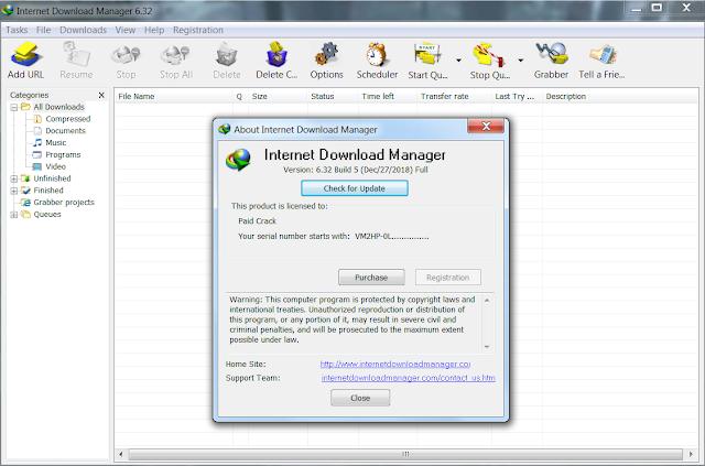 internet download manager crack 2019