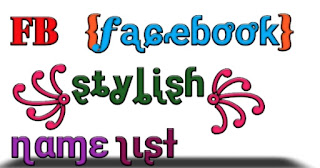 FB stylish name