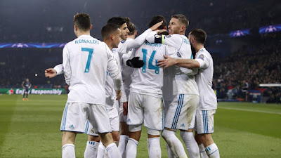 Highlight PSG 1-2 Real Madrid (Agg. 2-5), 7 Maret 2018