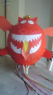 Piñata dragon maison