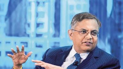 Who will be the new chairman for tata group Natarajan Chandrasekaran