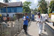 Tim Satgas Gugus Covid 19 Bontobaru, Tetiba Datangi 400 Rumah Warga