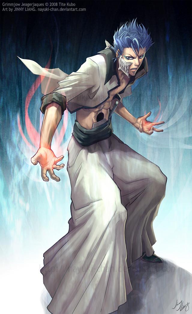Bleach Girls Wallpaper Grimmjow Jaegerjaquez 5 Fan Arts Your Daily Anime