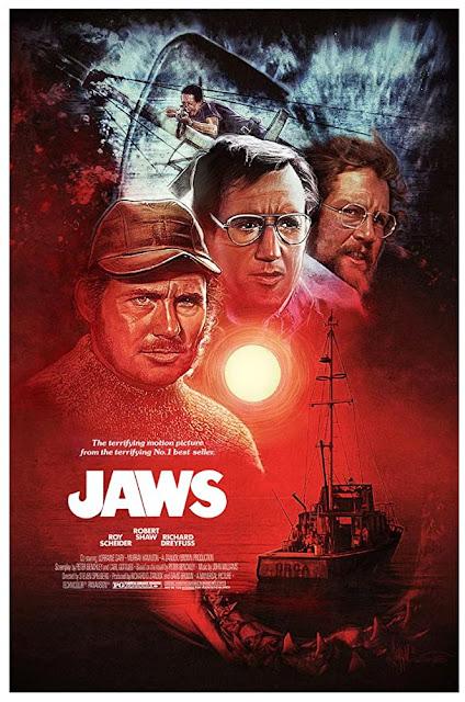 โปสเตอร์ Jaws ตำนานฉลามกินคน