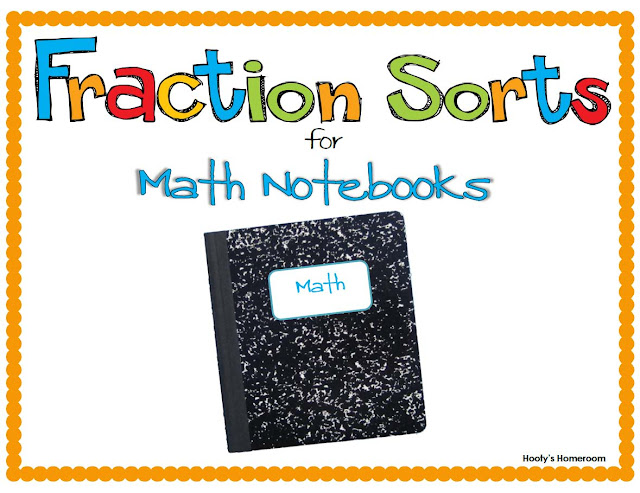 https://www.teacherspayteachers.com/Product/Fraction-Sort-for-Interactive-Notebooks-271600