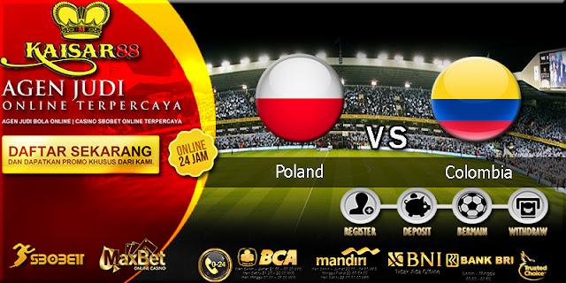 Prediksi Bola Jitu Poland vs Colombia 25 Juni 2018