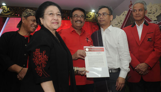 PDI-P Resmi Usung Djarot dan Sihar Sitorus Untuk Pilkada Gubernur Sumut 2018