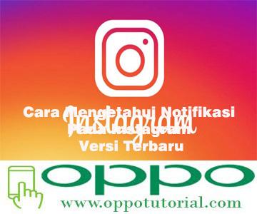 Cara Mengetahui Notifikasi Pada Instagram Versi Terbaru