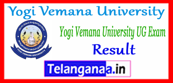 Yogi Vemana University UG Result 2017-18