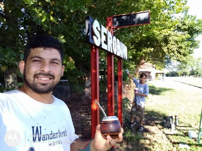 La estación Serodino vuelve a la vida gracias a un grupo de jóvenes de la comuna