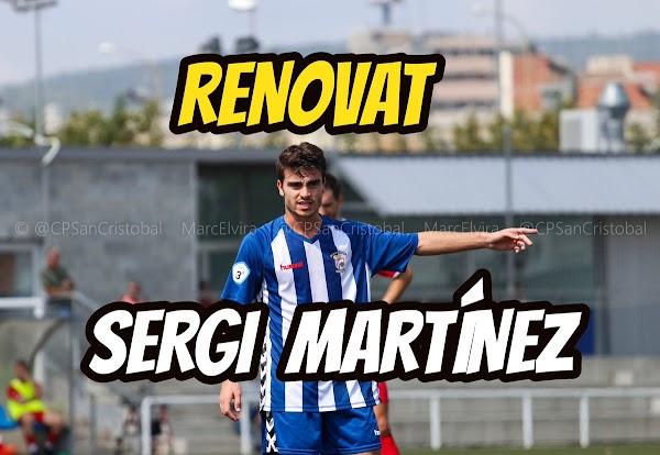 Oficial: CP San Cristóbal, renueva Sergi Martínez